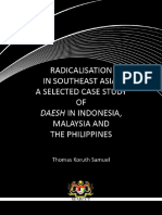 Radicalism in Southeastern asia