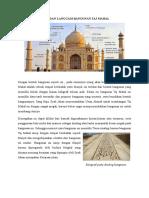 Tema Dan Langgam Bangunan Taj Mahal