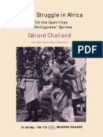 """(Modern Reader) Gerard Chaliand-Armed Struggle in Africa_ With the Guerrillas in """"Portuguese"""" Guinea-Monthly Review Press (1969)"""