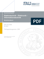 Modulhandbuch Elektrotechnik, Elektronik Und Informationstechnik (Bachelor of Science)-2
