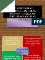 Klasifikasi Ilmu Pengetahuan-Munif