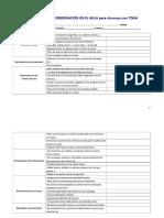 Protocolo de Observación en El Aula Para Alumnos Con Tdah