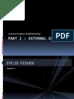 EXTERNAL DISEASE AND CORNEA.pptx