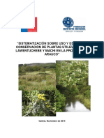 Sistematización Sobre Uso y Estado de Conservación de Plantas Utilizadas Por Lawentuchebe y Machi en La Provincia de Arauco (1) (1)