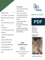 Folheto Asperger