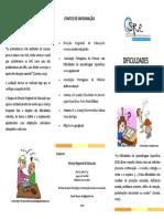 Folheto DAE