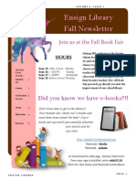 2017 fall library newsletter