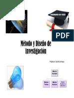 Metodo y Diseo de Investigacin 160212011516