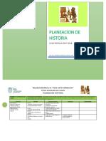 Mis Planeaciones Historia-5to