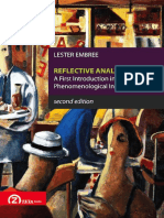 Lester Embree-Reflective Analysis. a First Introduction Into Phenomenological Investigation