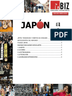 Tendencias y Habitos de Consumo Japon