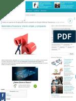 Matemática financiera_ interés simple y compuesto - Aprendiendo Administración.pdf