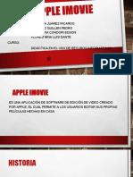 Apple IMovie PPT