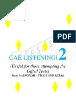 Cae Listening 2