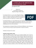 Boletín de Prensa. Equinoccio