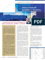 Exutorios y Sprinklers (Interaccion)