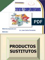 Investigacion de Mercados Productos Sustitutos