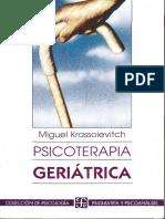Psicoterapia Geriátrica [Miguel Krassoievitch]