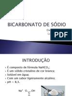 Bicarbonato de Sódio - Apresentação