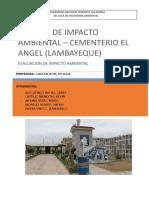 Informe Del Cementerio El Angel