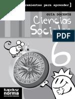 GD C Sociales 6 CABA Herramientas