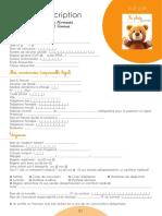 Dossier Inscription Enfance Jeunesse