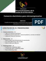 02 - Módulo 3 - Comercio Electrónico Para Microempresarios