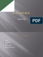 Max Weber 5 Tesis Terpenting