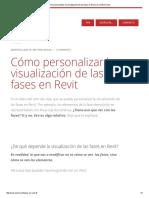 Cómo Personalizar La Visualización de Las Fases en Revit _ CursoRevit