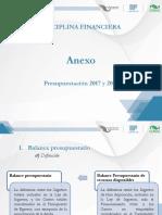 Presupuestaci�n 2017 y 2018 (P)