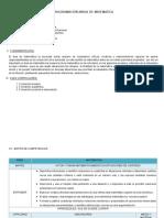Programacion Curricular Anual de Matematica