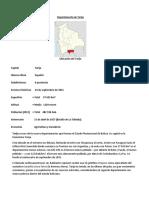 Departamento de Tarija