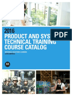 2016 Latin America Learning Catalog