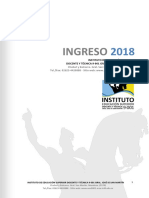 Folleto Informativo Ingreso 2018