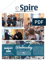 The Spire Newsletter, August 22, 2017
