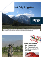 Bucket Drip Irrigation