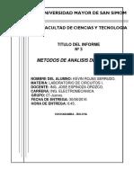 Metodos de Analisis de Circuitos