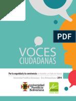 Agenda Ciudadana Voces Seguridad