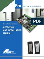 AcNetPro Manual