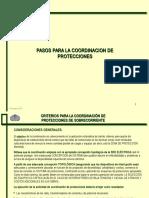 Pasos para la coordinación de Protecciones.ppt
