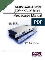 1550 Na TX Edfa Manual
