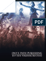 Onyx Path Publishing Brochure (2017)
