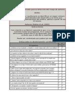 Cuestionario Modificado Para La Detección Del Riesgo de Autismo