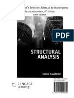 Solution Manual Structural Analysis - 4th Edition