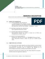 GRA QUE - Memoria Descriptiva 26NOV14
