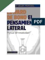 Edward de Bono pensamiento lateral.pdf