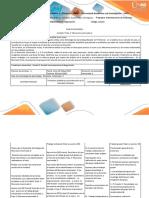 Guía de Actividades y Rúbrica de Evaluación – Paso 3– Momento Intermedio 2