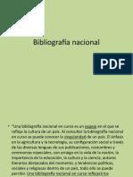 12 Bibliografía Nacional