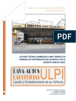 MANUAL DE OPERACION^J MANTENIMIENTO Y LIMPIZA