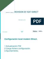 Guia Provisión VSAT IDirect Modem X1